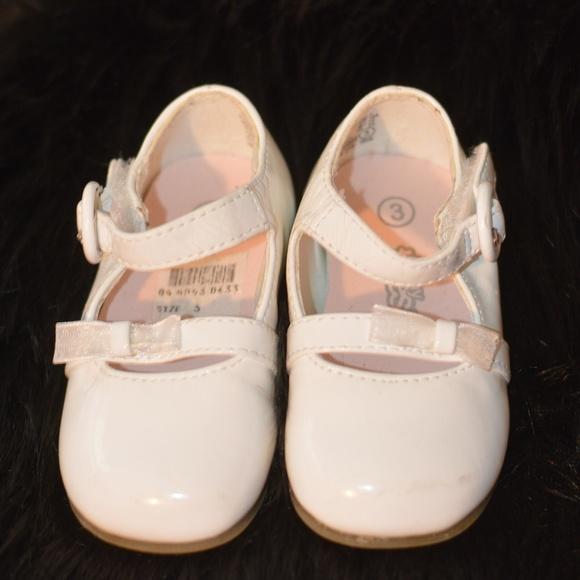 Shoes | Infant Mary Jane Dress White